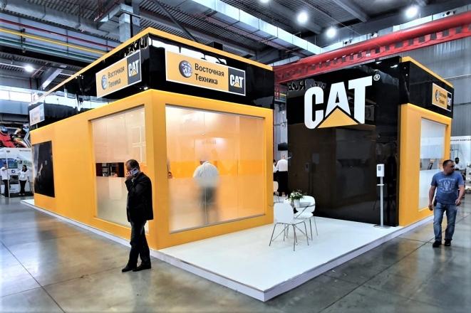 CAT - изготовление выставочных стендов в Самаре и Новосибирске