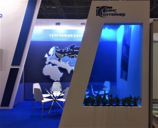 ТрансКонтейнер - изготовление выставочных стендов в Самаре и Новосибирске
