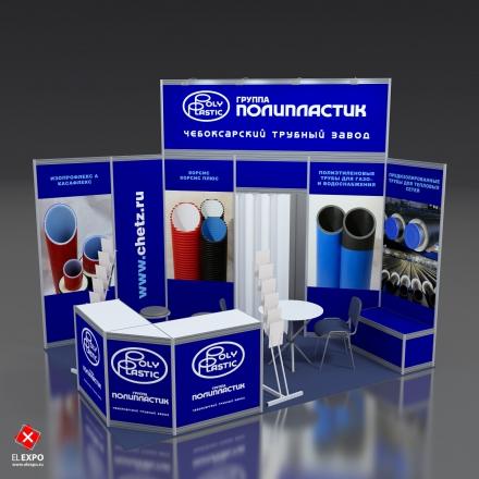 Чебоксарский Трубный Завод - изготовление выставочных стендов в Самаре и Новосибирске
