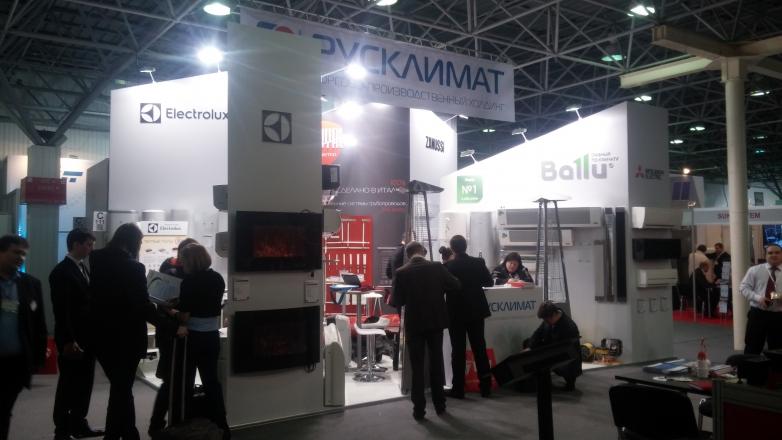 Русклимат - изготовление выставочных стендов в Самаре и Новосибирске