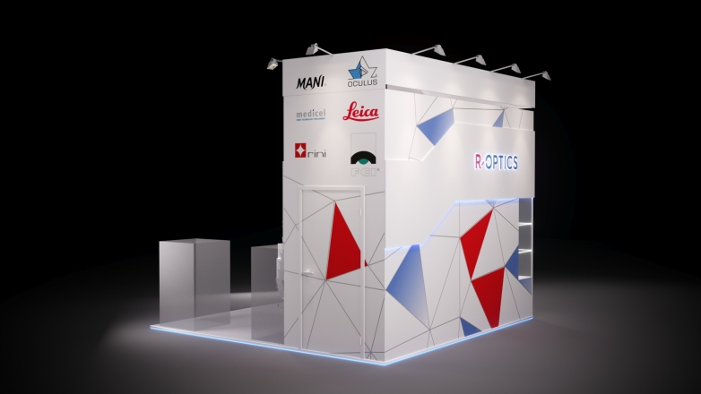 R-OPTICS - изготовление выставочных стендов в Самаре и Новосибирске