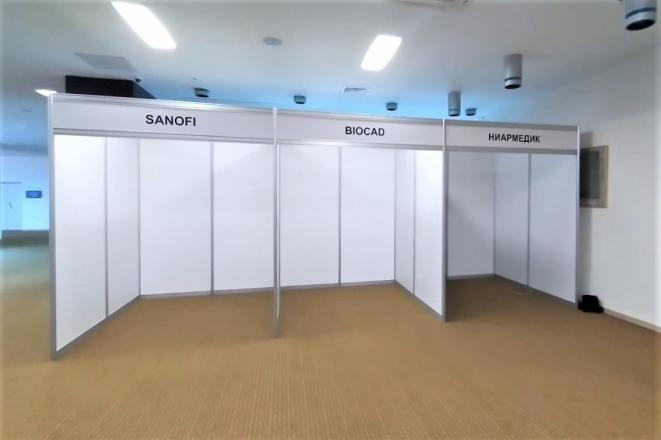 Медицина - изготовление выставочных стендов в Самаре и Новосибирске