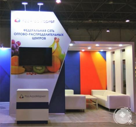 Федеральная сеть оптово-распределительных центров - изготовление выставочных стендов в Самаре и Новосибирске