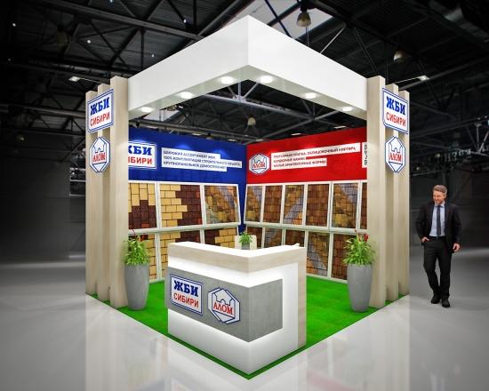 ЖБИ СИБИРИ - изготовление выставочных стендов в Самаре и Новосибирске