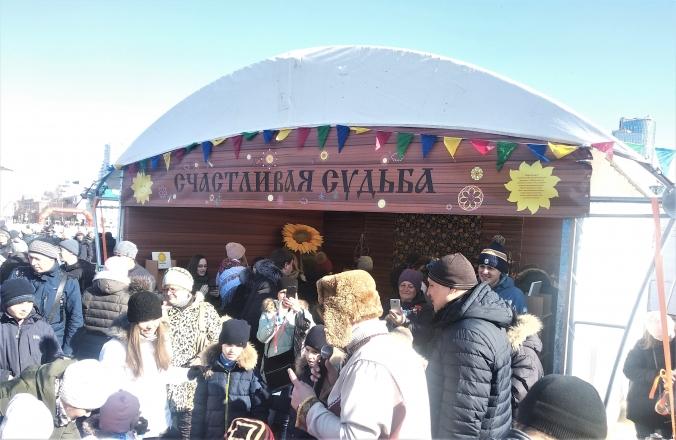 Русские народные гулянья - изготовление выставочных стендов в Самаре и Новосибирске