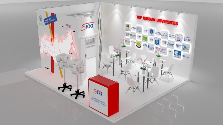 5-100 - изготовление выставочных стендов в Самаре и Новосибирске