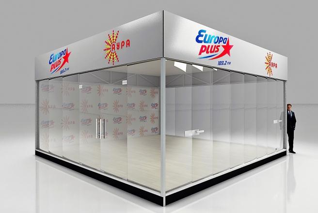 EUROPA PLUS - изготовление выставочных стендов в Самаре и Новосибирске