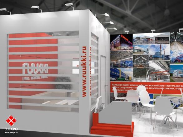 Ruukki - изготовление выставочных стендов в Самаре и Новосибирске