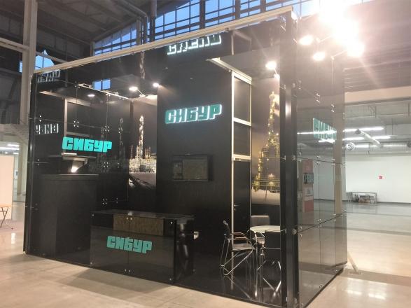 СИБУР - изготовление выставочных стендов в Самаре и Новосибирске