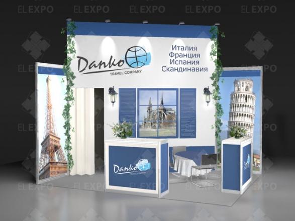 Данко Тревел - изготовление выставочных стендов в Самаре и Новосибирске