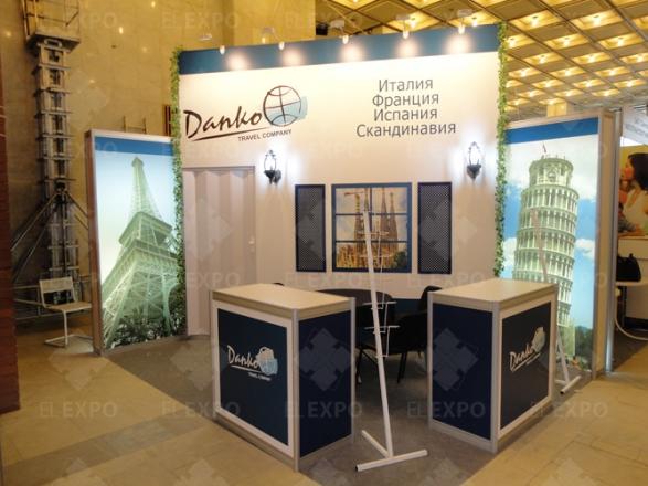 Danko Travel Company - изготовление выставочных стендов в Самаре и Новосибирске