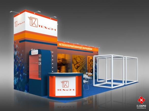 ТехКом - изготовление выставочных стендов в Самаре и Новосибирске