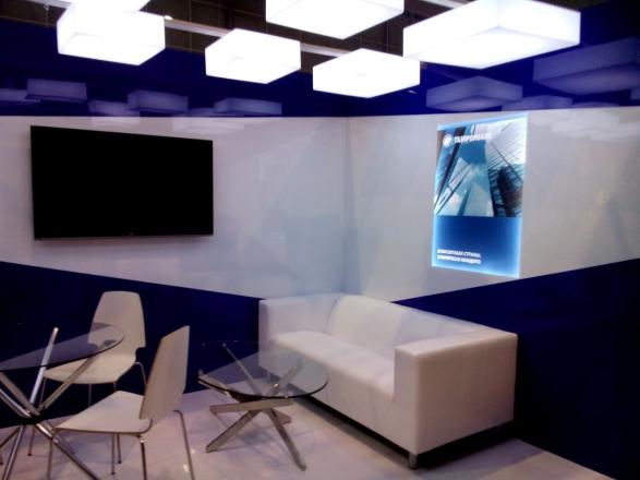 GazPromBank - изготовление выставочных стендов в Самаре и Новосибирске