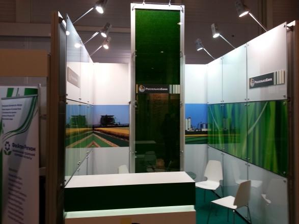 Россельхозбанк - изготовление выставочных стендов в Самаре и Новосибирске