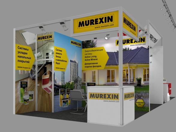 Murexin - изготовление выставочных стендов в Самаре и Новосибирске
