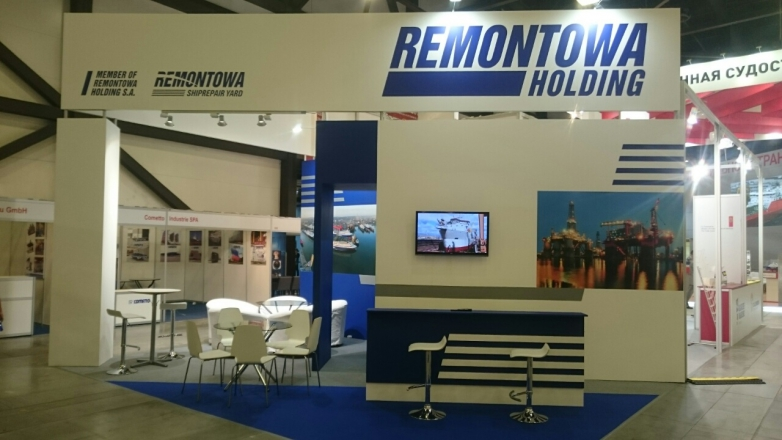 Remontowa - изготовление выставочных стендов в Самаре и Новосибирске