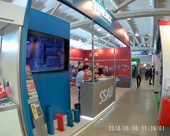 STRENX-HARDOX - изготовление выставочных стендов в Самаре и Новосибирске