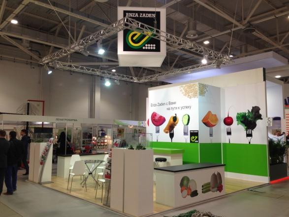 Enza Zaden - изготовление выставочных стендов в Самаре и Новосибирске