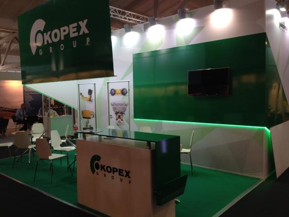 KOPEX - изготовление выставочных стендов в Самаре и Новосибирске