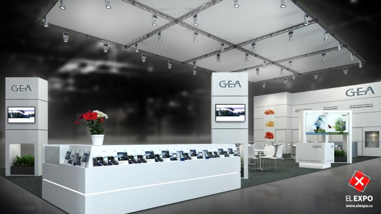 GEA - изготовление выставочных стендов в Самаре и Новосибирске