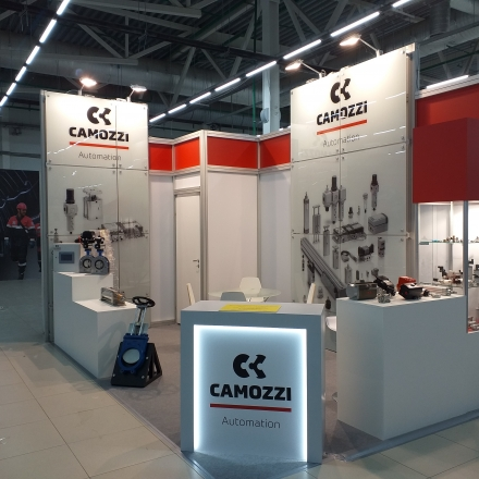 CAMOZZI AUTOMATION - изготовление выставочных стендов в Самаре и Новосибирске