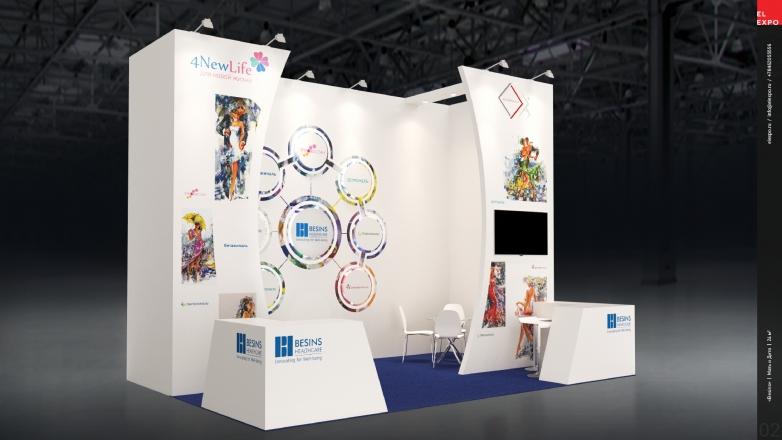 BESINS - изготовление выставочных стендов в Самаре и Новосибирске
