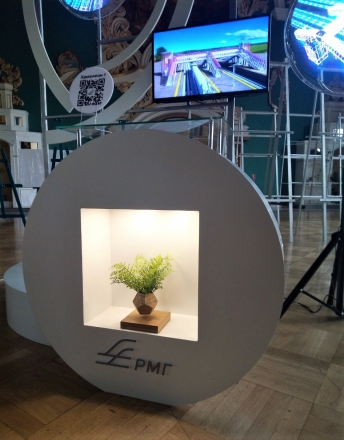 КАЗАНСКИЙ ВОКЗАЛ - изготовление выставочных стендов в Самаре и Новосибирске
