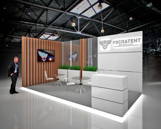 ФЕДЕРАЛЬНАЯ СЛУЖБА - изготовление выставочных стендов в Самаре и Новосибирске