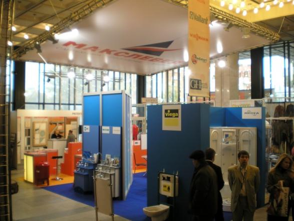 Макслевел - изготовление выставочных стендов в Самаре и Новосибирске