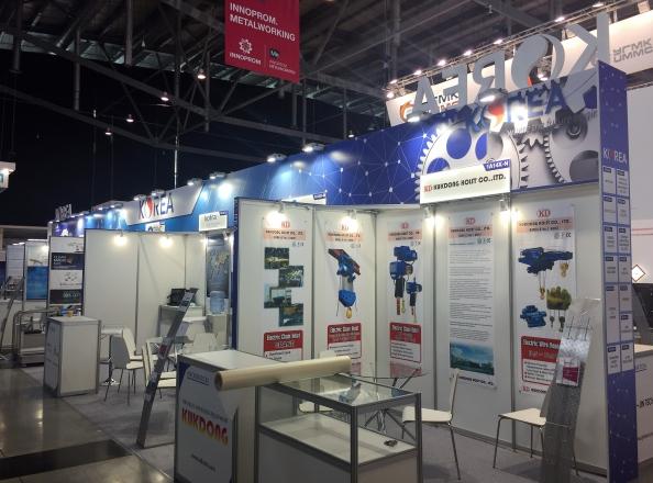 KOREA - изготовление выставочных стендов в Самаре и Новосибирске