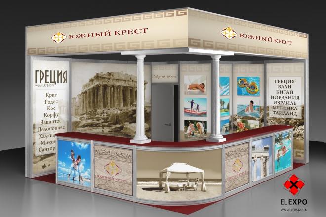 Южный Крест - изготовление выставочных стендов в Самаре и Новосибирске