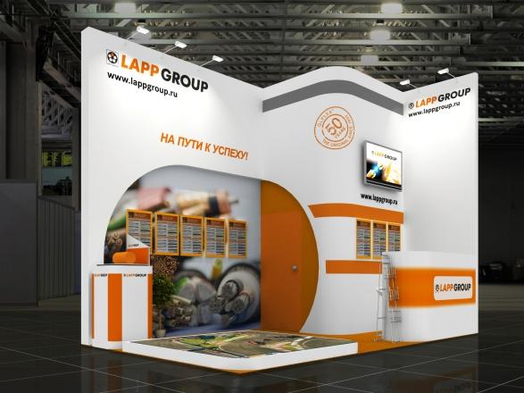 Lapp - изготовление выставочных стендов в Самаре и Новосибирске
