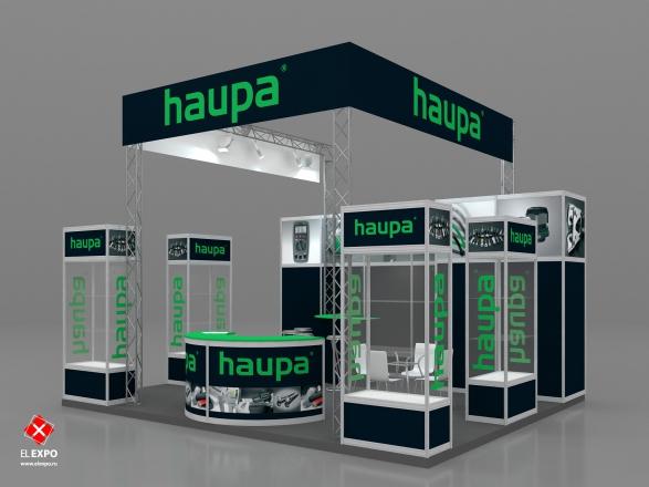 Haupa - изготовление выставочных стендов в Самаре и Новосибирске