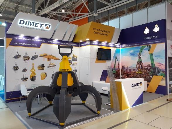 ГРУЗОПОДЪЕМНОЕ ОБОРУДОВАНИЕ - изготовление выставочных стендов в Самаре и Новосибирске