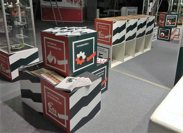 УАЗ - изготовление выставочных стендов в Самаре и Новосибирске