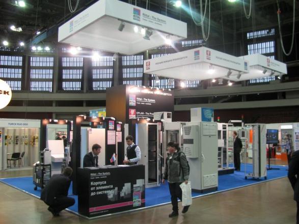 Риттал - изготовление выставочных стендов в Самаре и Новосибирске