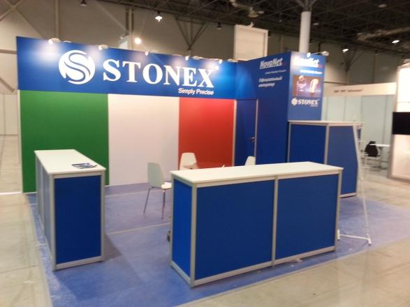 Stonex - изготовление выставочных стендов в Самаре и Новосибирске