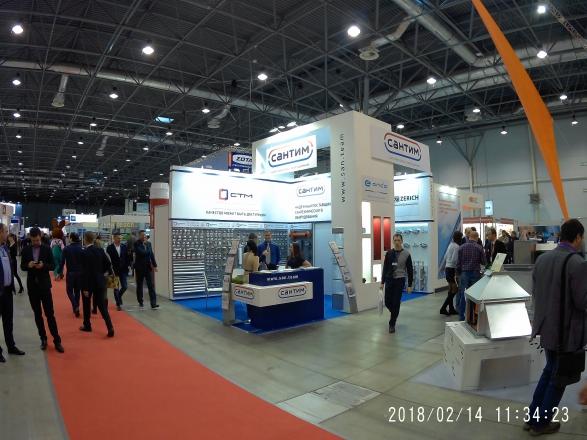 СТМ САНТЕХНИЧЕСКОЕ ОБОРУДОВАНИЕ - изготовление выставочных стендов в Самаре и Новосибирске