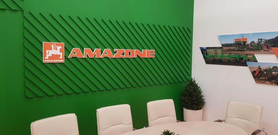 AMAZONE - изготовление выставочных стендов в Самаре и Новосибирске