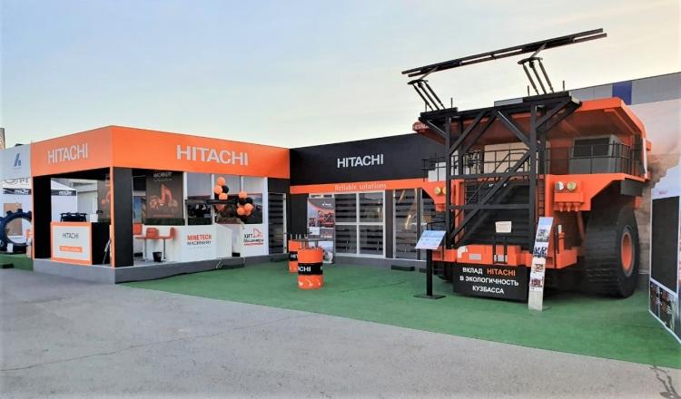 HITACHI - изготовление выставочных стендов в Самаре и Новосибирске