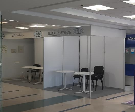 МЕДИКИ - изготовление выставочных стендов в Самаре и Новосибирске