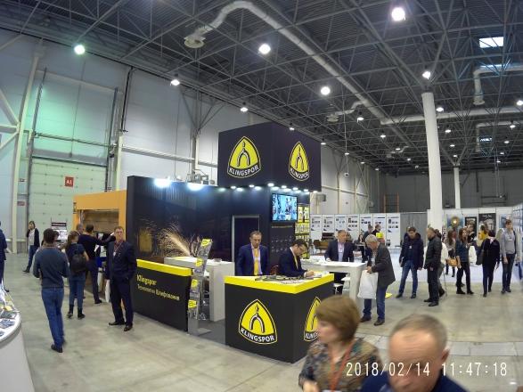 KLINGSPOR ТЕХНОЛОГИИ ШЛИФОВАНИЯ - изготовление выставочных стендов в Самаре и Новосибирске