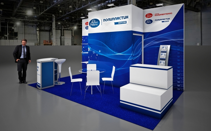 POLIPLASTIC - изготовление выставочных стендов в Самаре и Новосибирске
