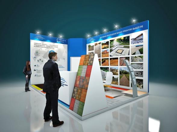 ВЫБОР - изготовление выставочных стендов в Самаре и Новосибирске