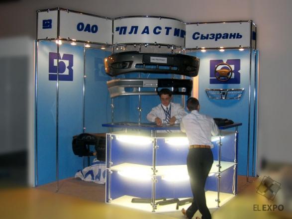 Пластик - изготовление выставочных стендов в Самаре и Новосибирске