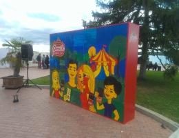 Выставочный стенд для РОССИЯ