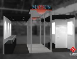 Выставочный стенд для Maysan