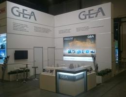Выставочный стенд для GEA