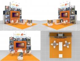 Выставочный стенд для АртГео