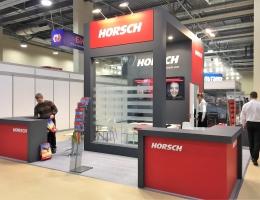 Выставочный стенд для HORSCH